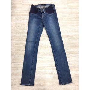 New J Brand Maternity Bayside Jeans Size: 25